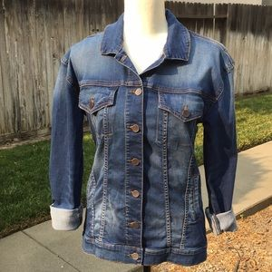 Kut from the Kloth Emma boyfriend jacket size S